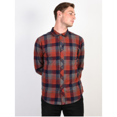 Billabong COASTLINE NAVY pánská košile dlouhý rukáv - XL