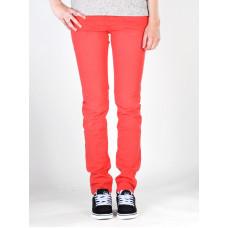 Roxy TORAH FLAT CANDY RED plátěné sportovní kalhoty dámské - 28