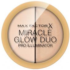 Max Factor Miracle Glow Duo Pro Illuminator 11g - 10 Light