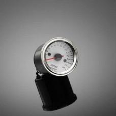 Otáčkoměr elektronický Highway Hawk s držákem pro čtyřtakt, 16000 ot., 52mm, chrom/bílý/LED multi - Highway Hawk HWH 67-405