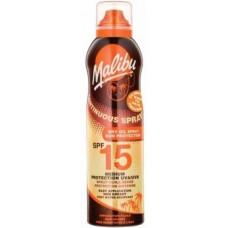 Malibu Continuous Spray Dry Oil Spray SPF 15 175ml