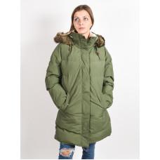 Roxy ELLIE PLUS BRONZE GREEN zimní bunda dámská - L