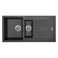 Sinks Kuchyňský dřez Perfecto 1000.1 Metalblack