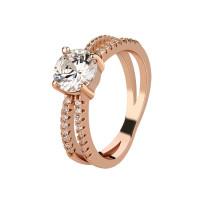 OLIVIE Stříbrný prsten ROSE 4226 Velikost prstenů: 8 (EU: 57 - 58)