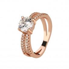OLIVIE Stříbrný prsten ROSE 4226 Velikost prstenů: 5 (EU: 47 - 50)