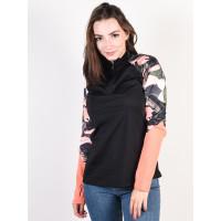 Roxy LEAD BY THE SLOPES LIVING CORAL PLUMES dámské tričko s dlouhým rukávem - L