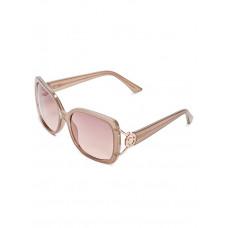 GUESS brýle Logo Plastic Sunglasses hnědé vel.
