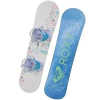 Roxy POPPY PACKAGE dětský snowboardový set - 90