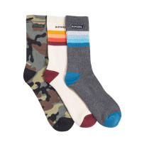 Rip Curl ART PARTY 3PK MIXED moderní barevné pánské ponožky