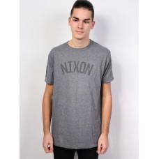 Nixon DECKER DARKHEATHERGRAY pánské tričko s krátkým rukávem - L