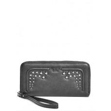 Guess peněženka Athina Studded Zip-Around černá vel.