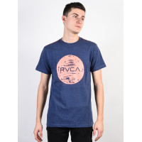 RVCA MOTORS dark denim pánské tričko s krátkým rukávem - XL