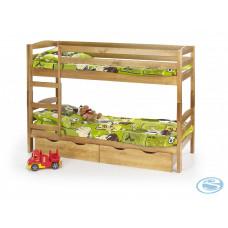 Dětská postel Sam borovice - HALMAR