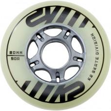 Kolečka k inline bruslím K2 80 MM FREERIDE GLOW WHEEL 4-PACK (2020) velikost: uni
