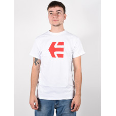 Etnies Icon white pánské tričko s krátkým rukávem - L