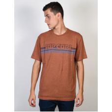 Rip Curl THE CALL GINGER SPICE MARLE pánské tričko s krátkým rukávem - M