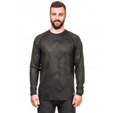 Horsefeathers RILEY black camo pánské thermo prádlo - XL
