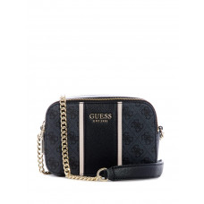 GUESS kabelka Cathleen Camera Bag coal vel.