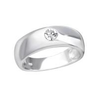 OLIVIE Stříbrný prsten s krystalem 2485 Velikost prstenů: 6 (EU: 51 - 53)