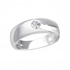 OLIVIE Stříbrný prsten s krystalem 2485 Velikost prstenů: 8 (EU: 57 - 58)
