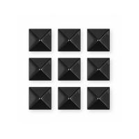 Gravity PYRAMID STUDS black