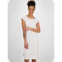 Alife and Kickin MelliAK white společenské šaty krátké - XS