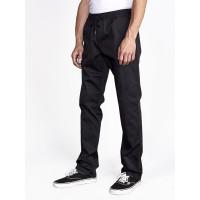 RVCA WEEKEND ELASTIC RVCA BLACK plátěné sportovní kalhoty pánské - M
