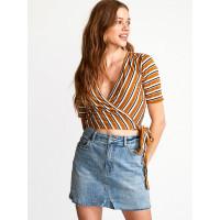 RVCA LYRA CATHAY SPICE dámské tričko s krátkým rukávem - S