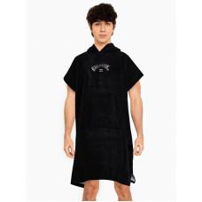 Billabong HOODIE TOWEL black dárek
