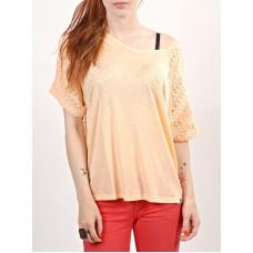 Billabong SHOW ME OFF FLASH MELON dámské tričko s krátkým rukávem - S
