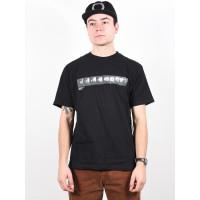 RVCA BAKER PHOTO black pánské tričko s krátkým rukávem - M