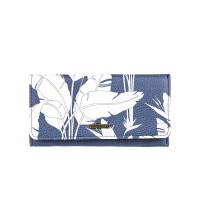 Roxy HAZY DAZE MOOD INDIGO FLYING FLOWERS S luxusní dámská peněženka