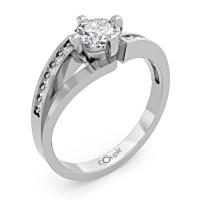 Couple Zlatý dámský prsten Tilde 6660277 Velikost prstenu: 55
