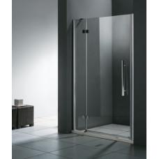 Aquatek Better B5 CHROM Sprchové dveře do niky čiré sklo 8mm, 101-105x195cm