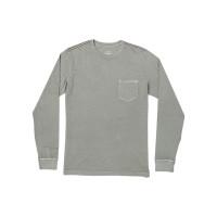 RVCA PTC PIGMENT ALOE pánské tričko s dlouhým rukávem - M