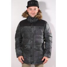 Burton TRAVERSE DERBY CAMO/TRUE BLACK zimní bunda pánská - M