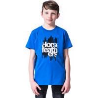 Horsefeathers RAGGED IMPERIAL BLUE dětské tričko s krátkým rukávem - M
