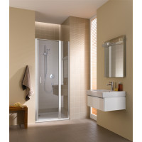 KERMI - Cada XS Jednokřídlé kyvné dveře s pevným polem vlevo šířka 900 mm výška 2000 mm (CC1GL09020VPK)
