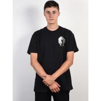 RVCA PROWLER black pánské tričko s krátkým rukávem - XL