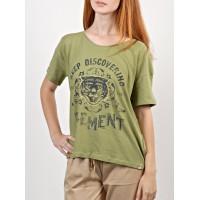 Element TIGER DEEP MOSS dámské tričko s krátkým rukávem - XS