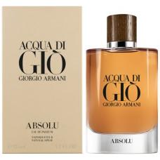 Giorgio Armani Acqua di Gio Absolu parfémovaná voda pánská 125 ml