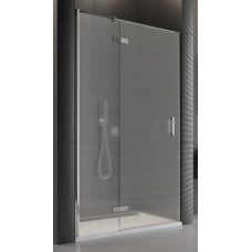 SanSwiss PU13PG 090 10 30 Sprchové dveře jednodílné 90 cm levé, chrom/mastecarré