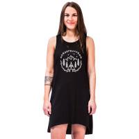 Horsefeathers QUINN black společenské šaty krátké - L