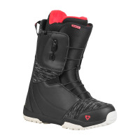 Gravity AURA FAST LACE BLACK/BERRY dámské boty na snowboard - 43EUR