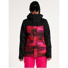Volcom Bolt Ins BRIGHT PINK zimní bunda dámská - M