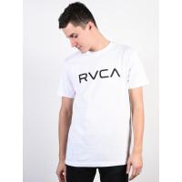RVCA BIG RVCA white pánské tričko s krátkým rukávem - XL