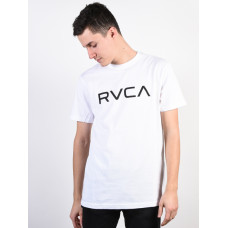 RVCA BIG RVCA white pánské tričko s krátkým rukávem - M