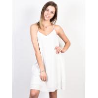 Roxy OFF WE GO Marshmallow společenské šaty krátké - L