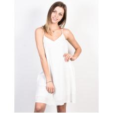 Roxy OFF WE GO Marshmallow společenské šaty krátké - M