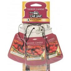 Yankee Candle Car Jar Classic 3 Assorted Fragrances Black Cherry